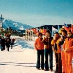 Slovenski olimpijci na OI v Sarajevu leta 1984. Foto: Edo Hafner/Gornjesavski muzej Jesenice (foto:  Edo Hafner/Gornjesavski muzej Jesenice)