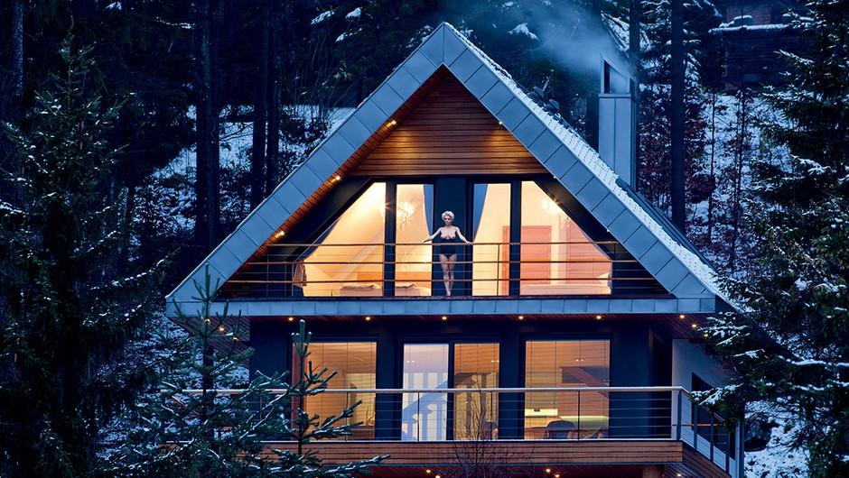 Krasna Jasna: alpska hiša iz sanj (foto: Urška Košir)