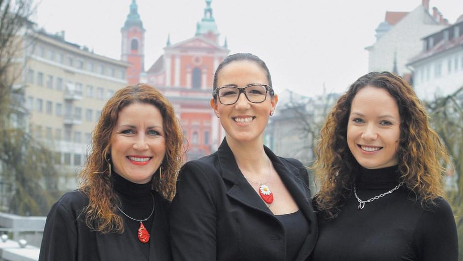 Tri vražje ženske, ki so združile slovenske podjetnice (foto: Aleš Pavletič)