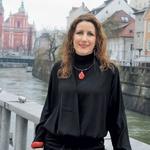 Urša Žorž je 41-letna diplomirana ekonomistka in turistična organizatorka, ki ima podjetje za organizacijo dogodkov in izobraževanj (www.eventio.si). (foto: Aleš Pavletič)