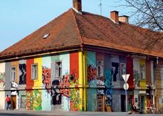 Jurij Lozić: 'Grafiti lahko degradiranim površinam dajo dodatno vrednost'