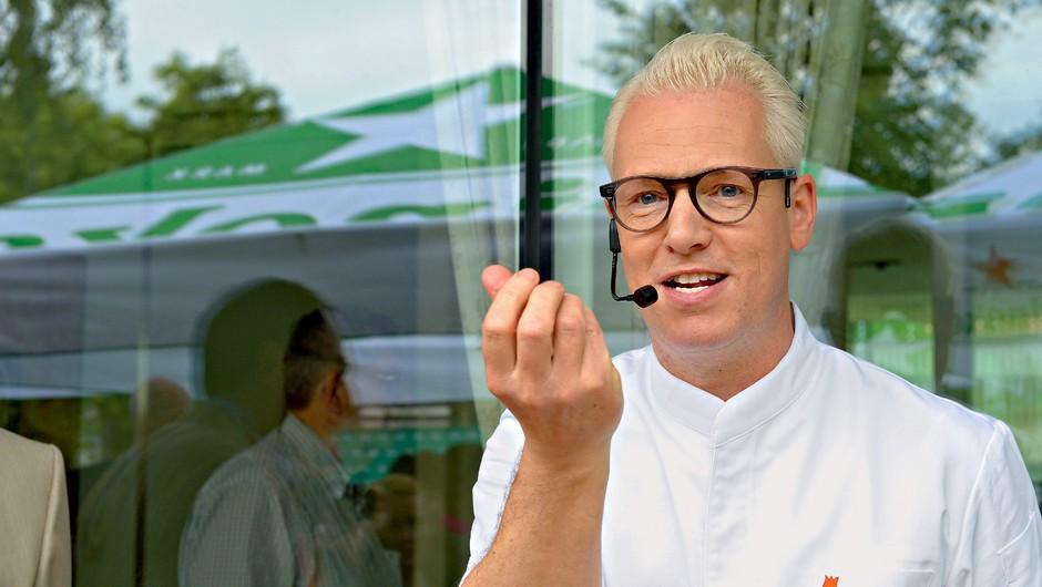 Intervju z Rudolphom van Veenom, ki verjame, da so ženske boljše kuharice (foto: Primož Predalič)