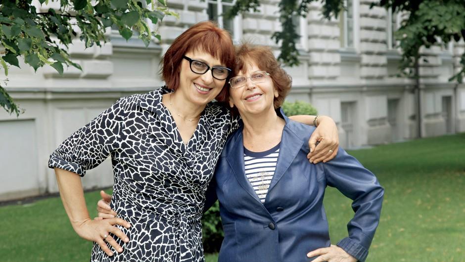 Intervju z modno mamo Marijo Mimi Udovič in hčerko Suzano Duhovnik (foto: Helena Kermelj)