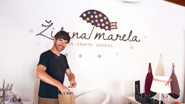 Židana marela, kjer so doma dobrote in izdelki iz domačih krajev (foto: Helena Milost)