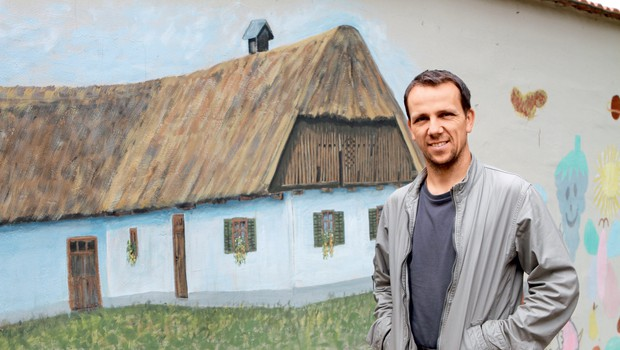 Intervju z Darkom Kranjcem iz Hiše Sadežev družbe v Murski Soboti (foto: Goran Antley)