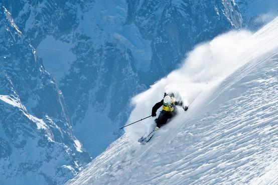 Najboljše možnosti prostega smučanja v Alpah