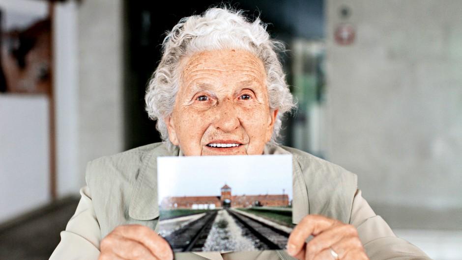 """Sonja Vraščaj: """"Auschwitz je dejansko bil tovarna smrti"""" (foto: Goran Antley)"""