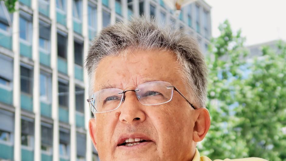 """Dr. Vojko Kavčič: """"Če je umovadba učinkovita,  je to najcenejša preventiva in medicina"""" (foto: Goran Antley)"""