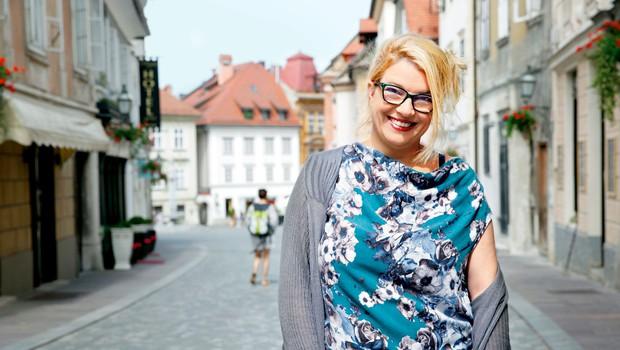 """Režiserka Ivana Djilas: """"Presežek je čudež, ki se zgodi v kontekstu časa in občinstva"""" (foto: Helena Kermelj)"""