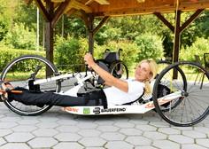 """Anka Vesel: """"Voziček je del mene, to je tudi vsa razlika med mano in vami, ki hodite"""""""