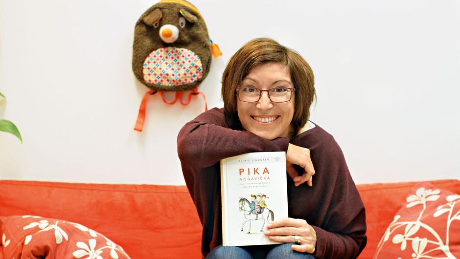Alenka Veler: Obstaja mit, da mladi ne berejo, a ni tako! (foto: Goran Antley)