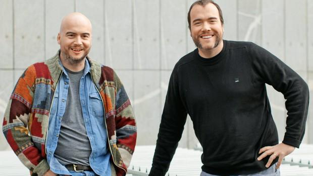Andrej in Rok Predin (foto: Goran Antley)