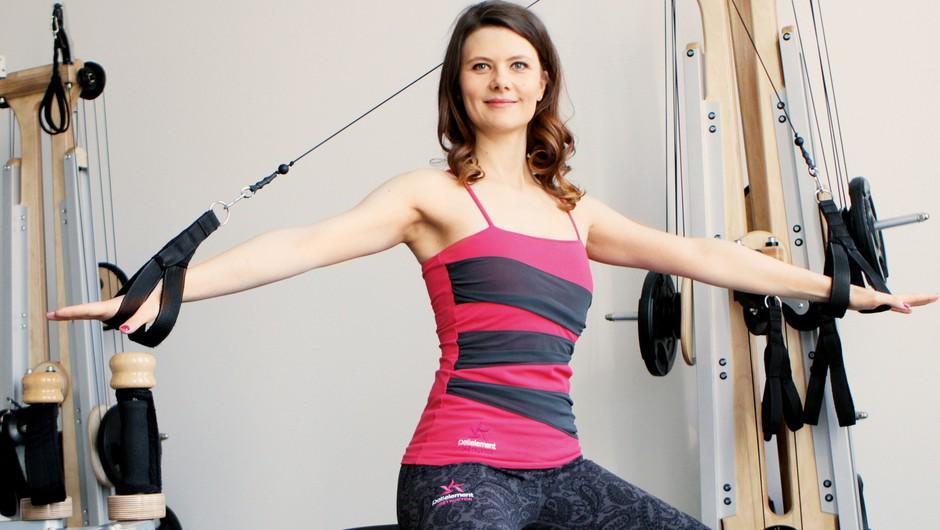 Špela Jakša: Bolečina se običajno pojavi, ko mišica odpove (foto: Goran Antley)