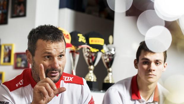 Tim in Bogomir Gajser: Iskren pogovor s svetovnim prvakom in z njegovim trenerjem (foto: Samo Vidic)