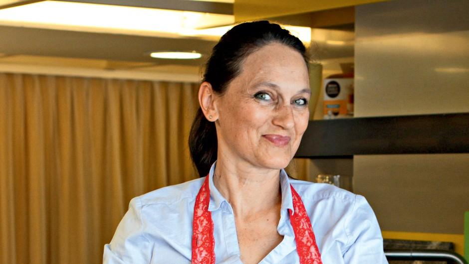 Alenka Resinovič – Reza: Pravzaprav živim kot igralci - nov film, nova glavna vloga. To sem jaz. (foto: Goran Antley)