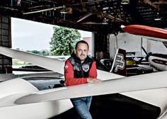 Intervju z najboljšim slovenskim akrobatskim pilotom Petrom Podlunškom
