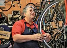 Milinko Kovačević: Servisiranje koles mi je hrana za dušo