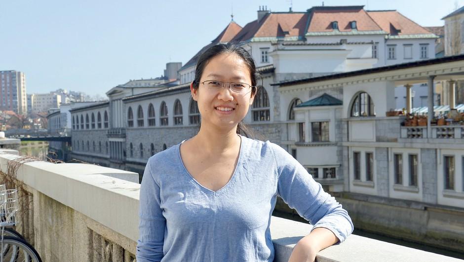Sun Shen: Prehitro se profesorje krivi za neuspeh (foto: Primož Predalič)