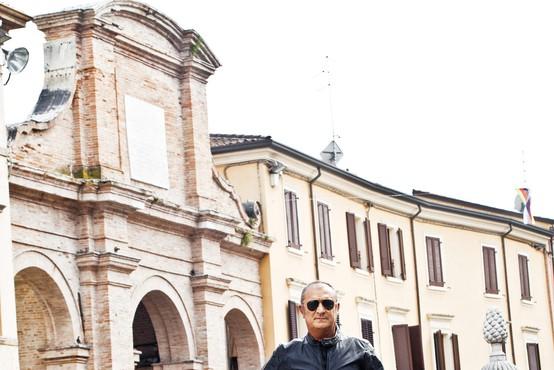 Italijanski dizajner Aldo Drudi: Pri dirkanju z motociklom ubiraš čim bolj čiste, kratke in enostavne linije.