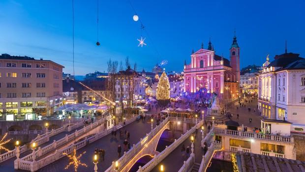 V Ljubljani in Mariboru se bodo prižigale praznične luči (foto: profimedia)