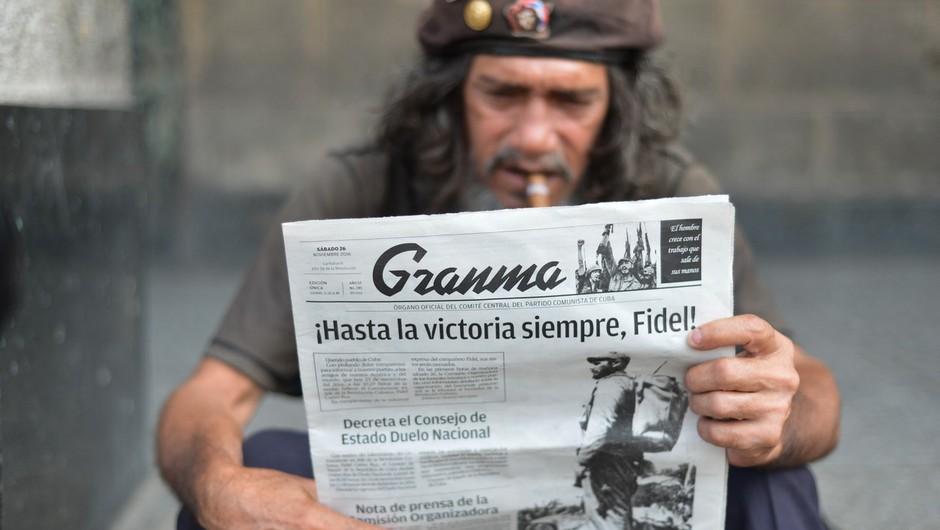 Mešani občutki ob smrti Fidela Castra (foto: profimedia)