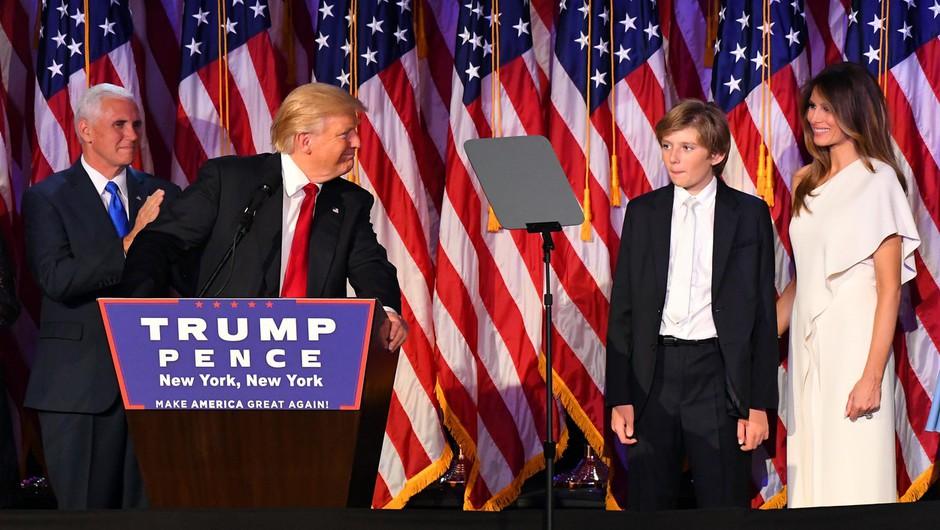 Donaldov odvetnik s tožbo zagrozil avtorju posnetka, v katerem ta namiguje, da je Barron Trump avtist! (foto: profimedia)