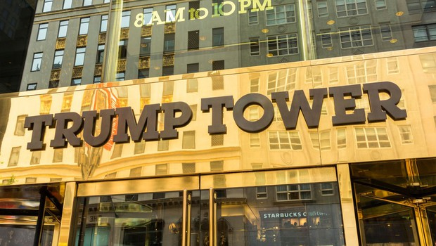 Zaradi nahrbtnika brez lastnika panika pred Trumpovo stolpnico! (foto: profimedia)