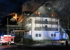 V Bohinju je gorel Hotel Jezero! Goste in zaposlene so evakuirali!