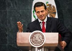 """Enrique Pena Nieto je jasen: """"Mehika ne bo plačala Trumpovega zidu!"""""""