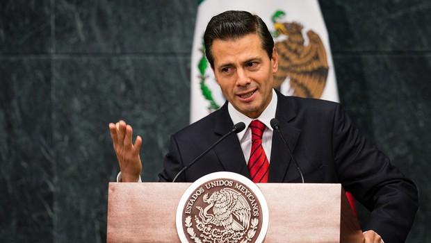 """Enrique Pena Nieto je jasen: """"Mehika ne bo plačala Trumpovega zidu!"""" (foto: profimedia)"""