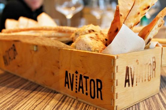 Gurmanski obisk v restavraciji Aviator