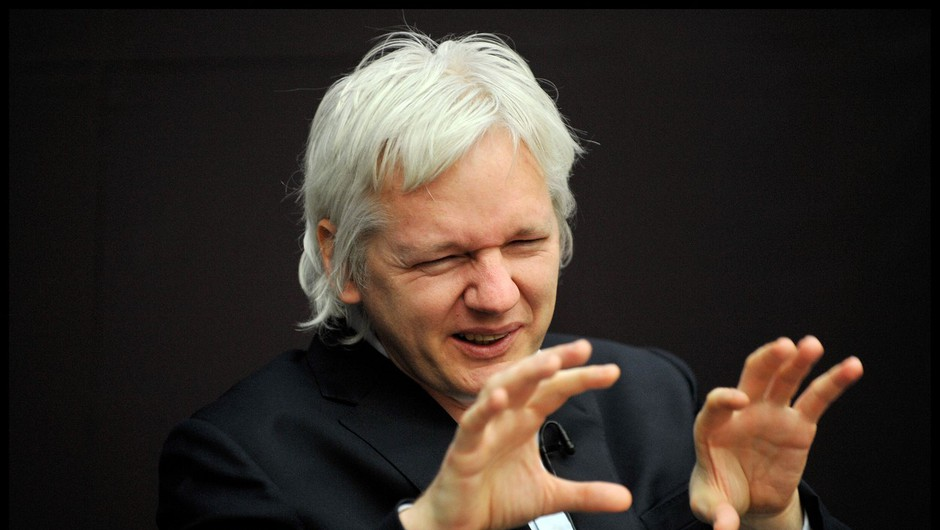 Britanska policija aretirala ustanovitelja Wikileaksa Juliana Assangea (foto: profimedia)