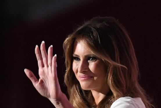 Na gala sprejemu v čast prve dame Amerike zaman čakali Melanio Trump!