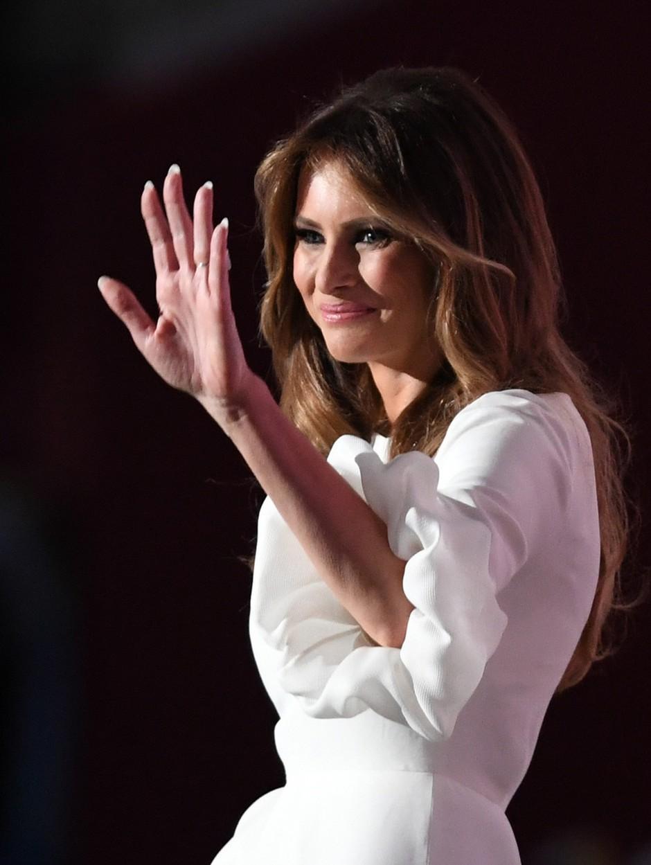 Na gala sprejemu v čast prve dame Amerike zaman čakali Melanio Trump! (foto: profimedia)