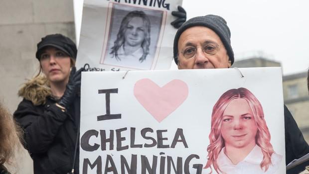 Chelsea Manning so po dveh mesecih izpustili iz zapora (foto: profimedia)