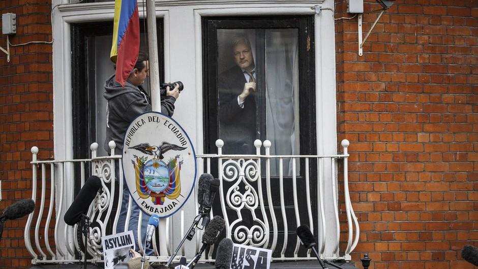 Ameriške oblasti so Assangea obtožile še vohunstva (foto: profimedia)