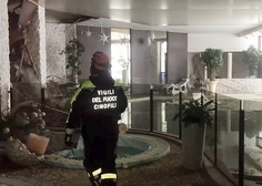 Iz zasutega italijanskega hotela rešili še štiri ljudi