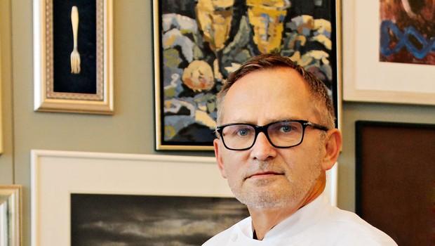 Chef Janez Bratovž: »Plave ribe so bolj zanimive« (foto: Gojko Zrimšek)