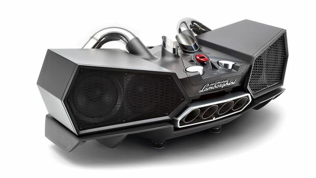 Lamborghinijev rjoveči zvočnik (foto: proizvajalec)
