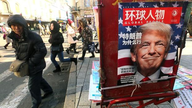 Trump z zapoznelim voščilom za kitajsko novo leto! (foto: profimedia)