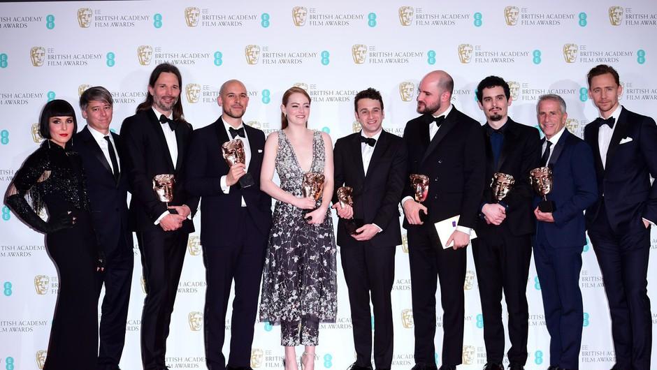 Dežela La La s petimi nagradami bafta (foto: profimedia)