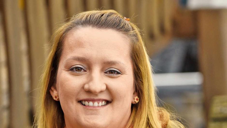 Ljubiteljska slaščičarka Željka Bohar: Uživa v snovanju novih receptur (foto: Lisa)