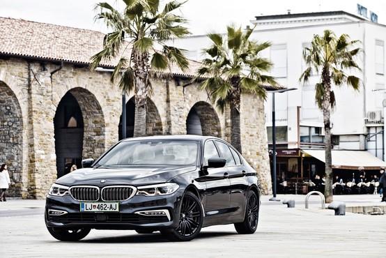 Natančen, odziven in živahen: BMW 540i