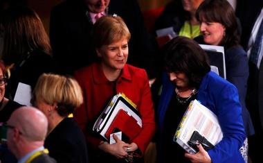 Škotski parlament podprl novi referendum o samostojnosti Škotske