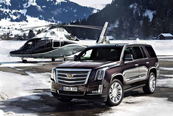 Cadillac Escalade pravi Ameriški nastopač