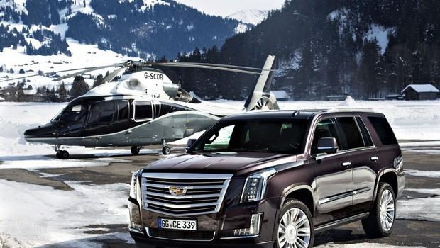Cadillac Escalade pravi Ameriški nastopač (foto: PROIZVAJALEC)