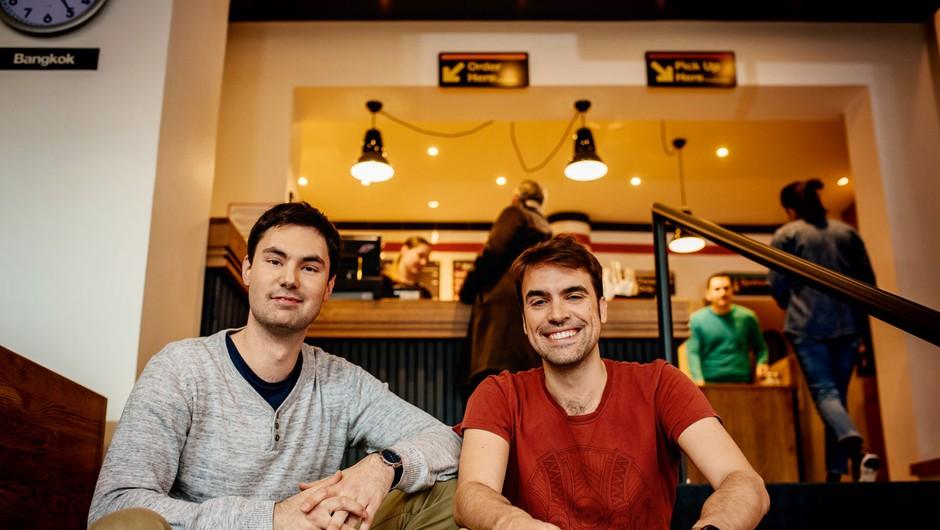 Klemen Ptičak in Til Pleterski: Hood Burger je kultura street fooda na visoki ravni (foto: Jaka Birsa)