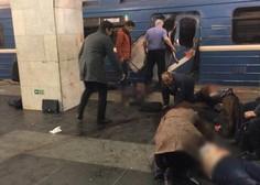Več mrtvih v eksploziji v podzemni železnici v Sankt Peterburgu!