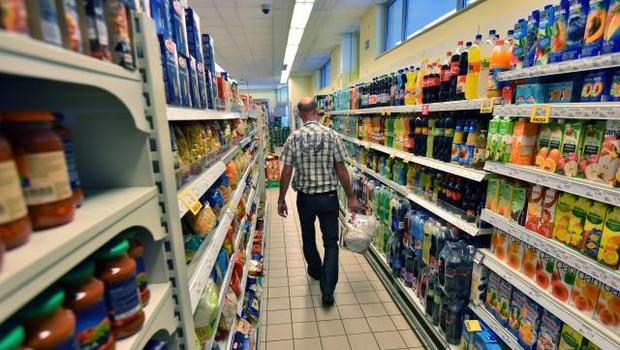 Na Hrvaškem so odprli največjo trgovino s poceni hrano (foto: STA)
