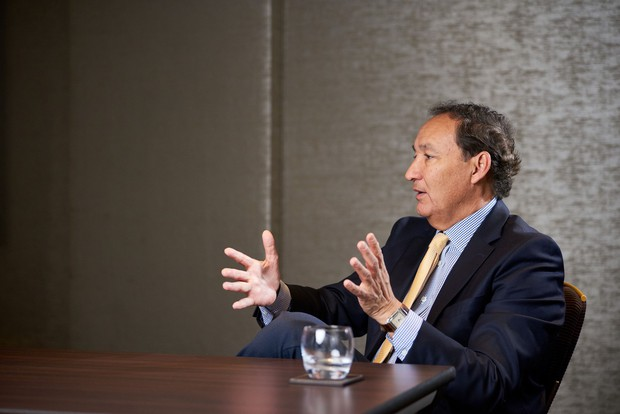 Direktor družbe United Airlines Oscar Munoz (foto: profimedia)